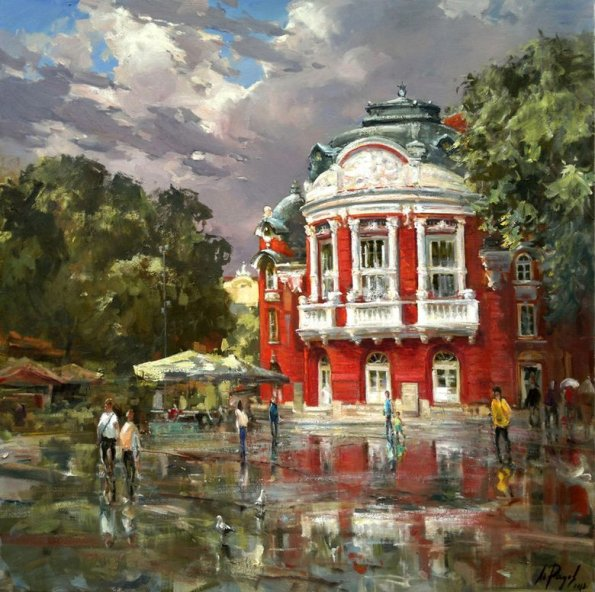 After the rain -Theater in Varna / След дъжда -Театъра Варна